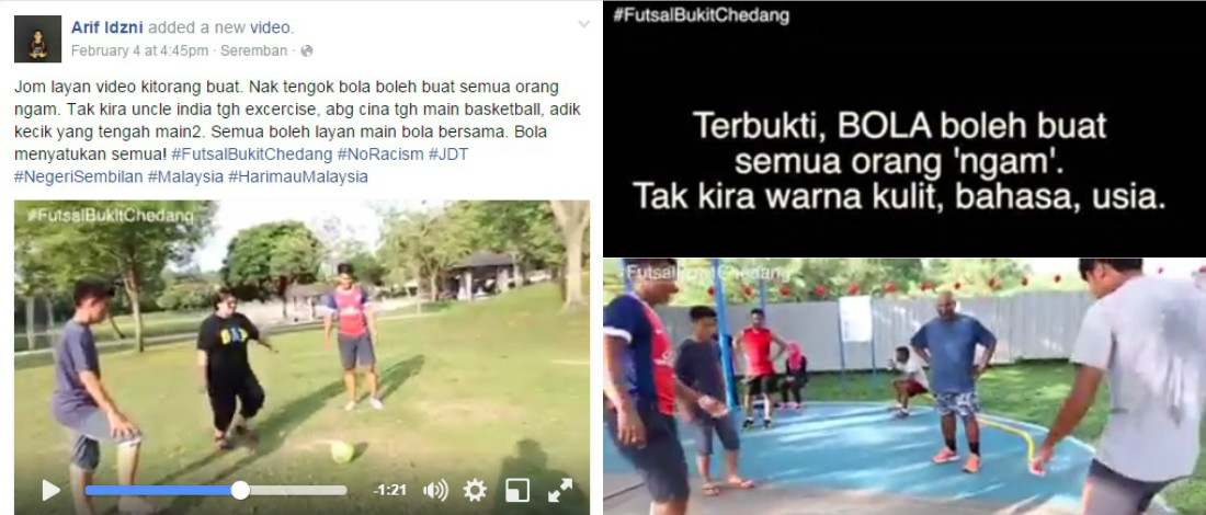 Dengan Sebiji Bola, Pemuda Ini Satukan Masyarakat