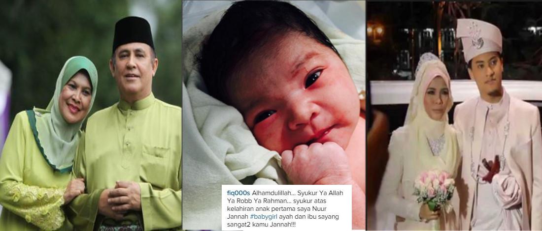 Datuk Yusof Haslam Timang Cucu Keempat Di Tahun Baru!