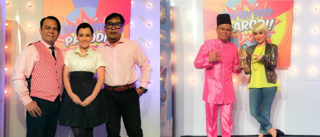 #JuaraParodi: Layak Ke Separuh Akhir, Kobis Pedas Bawa Semangat Yus Jambu