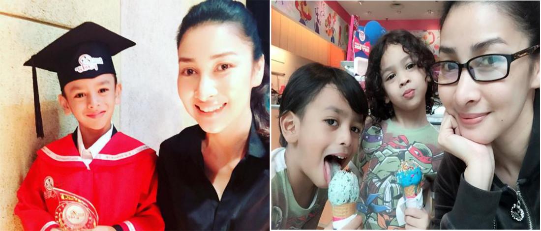 Anak Sulung Rita Rudaini Suruh Cari Ayah Baru
