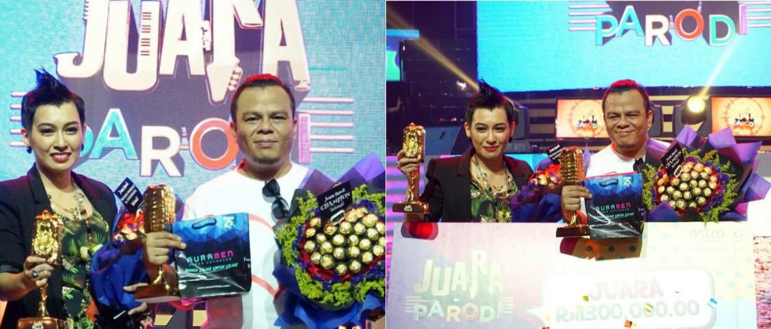 #JuaraParodi: Kobis Pedas Bergelar Juara, Bawa Pulang RM325,000