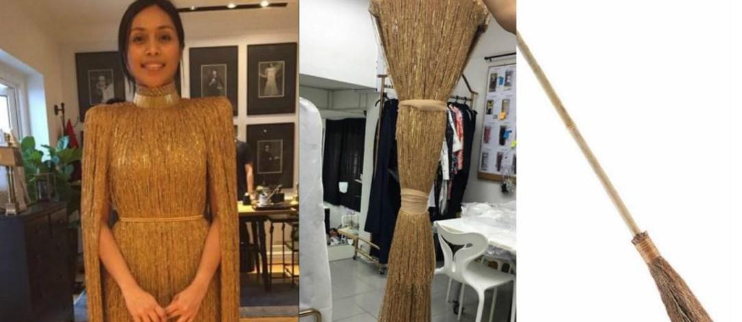 Baju Dayang Nurfaizah Inspirasi Penyapu Sihir - Rizalman