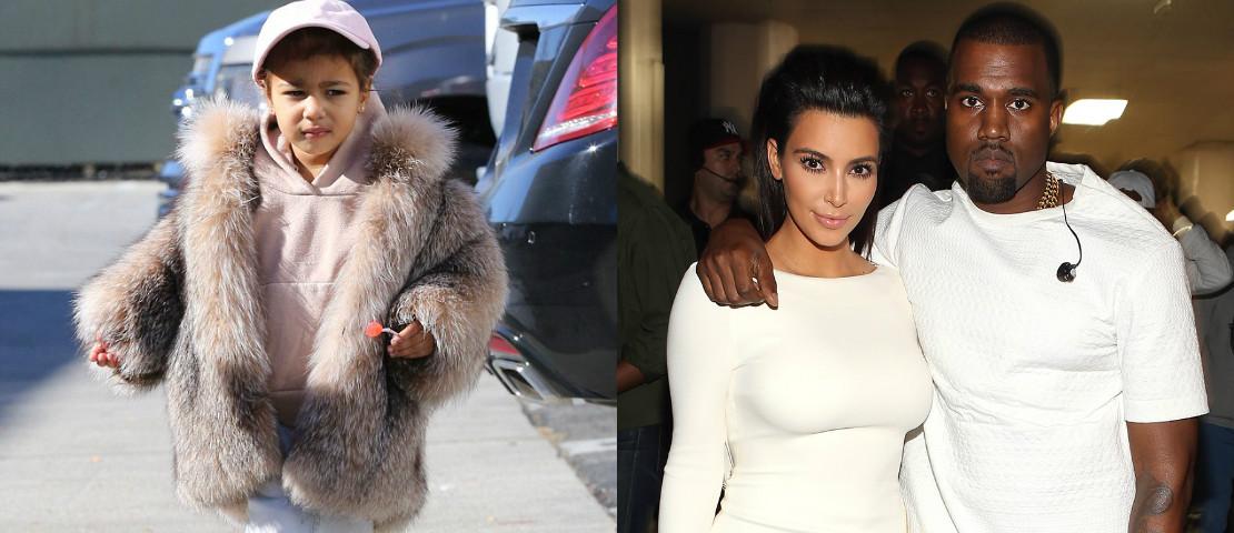 Pakaian Mewah Anak Kim Kardashian Di Kecam Pengikut Instagram