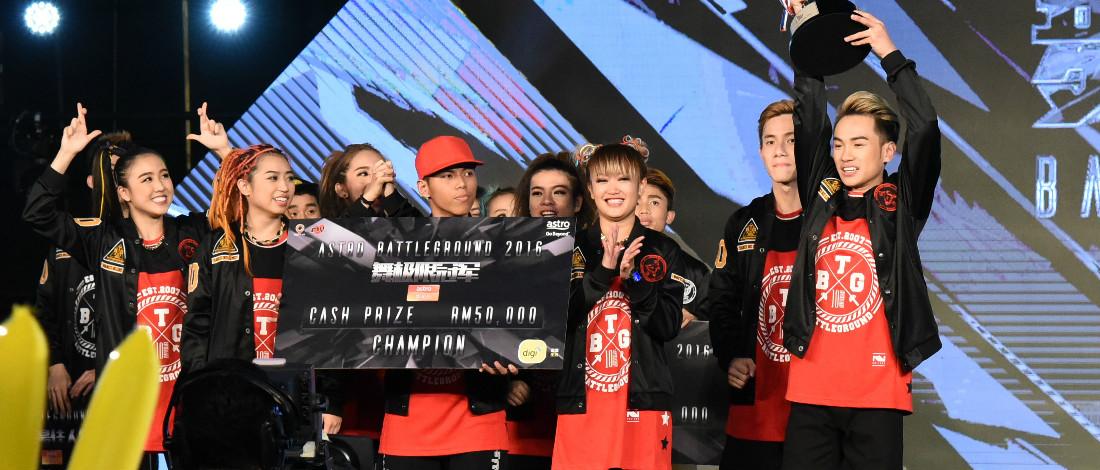 Red Lycans Juarai Astro Battleground 2016