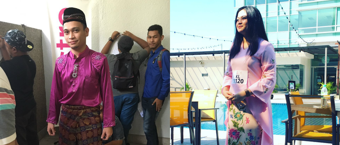 Tarik Perhatian Juri, Peserta Hadir Ujibakat AF2016 Pakai Baju Raya