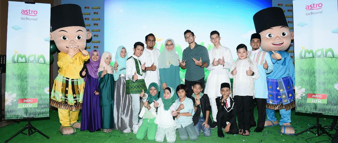 'Iman' Program Kanak-Kanak Ketengah Kandungan Islamik