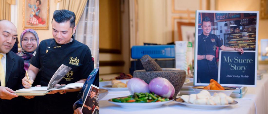 Buku Resepi Pertama Datuk Fazley, Tewaskan 200 Chef Selebriti Dunia