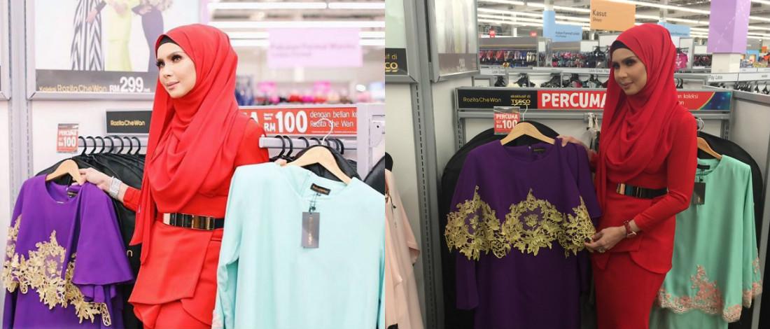 Pilih Baju Ikut Saiz Sesuai - Che Ta Komen Isu Koleksi Baju Raya