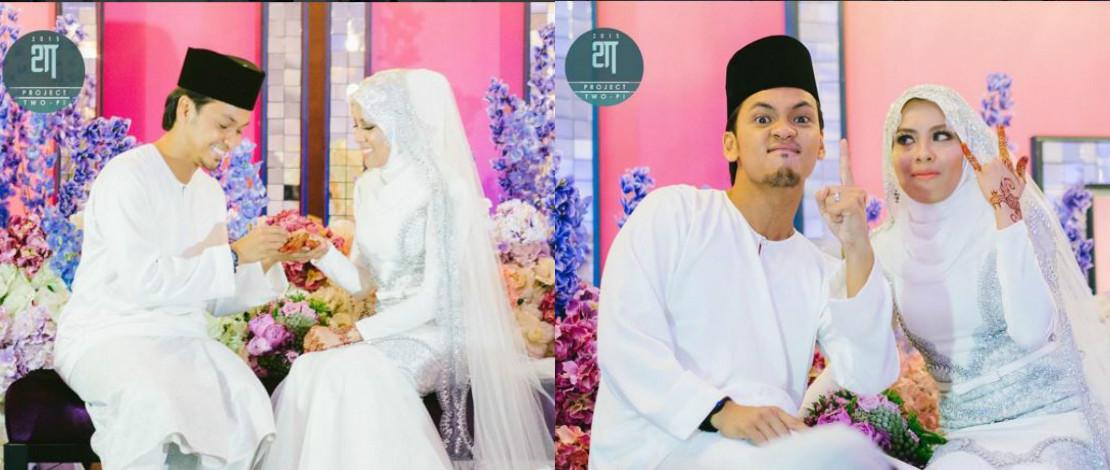 Sembilan Tahun Bercinta, Jihan Muse & Ungku Hariz Kini Suami Isteri