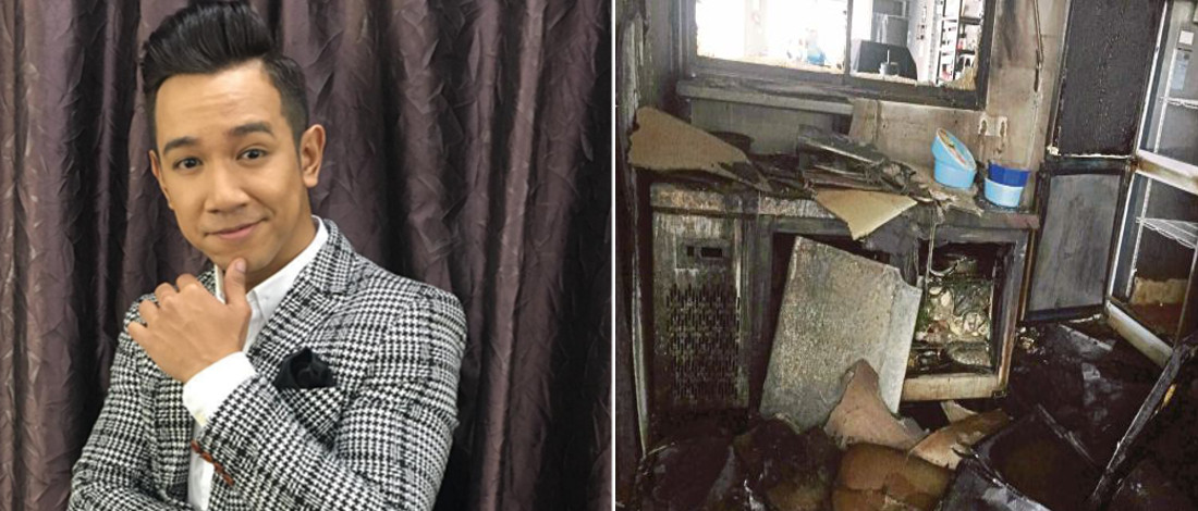 Sufi AF 2015 Rugi RM25,000, Dapur Restoran Terbakar