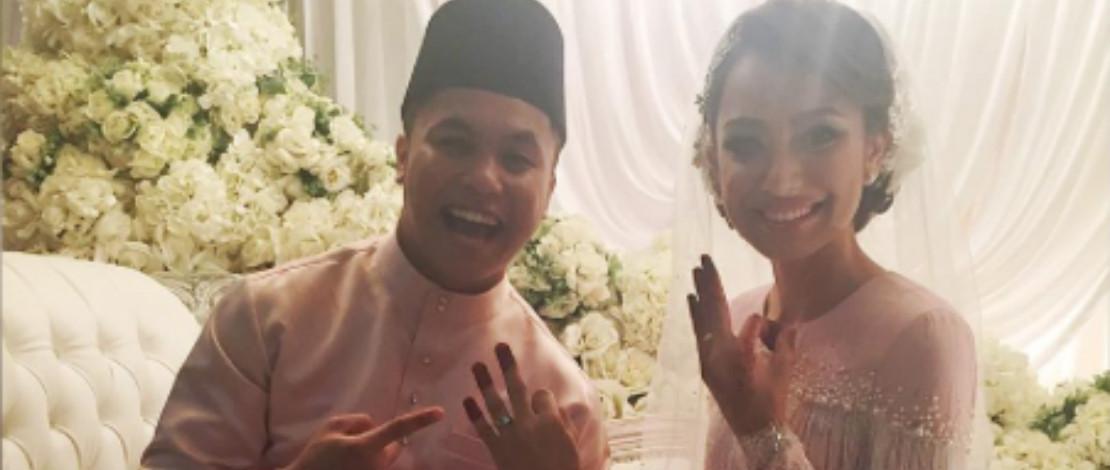 Dengan Sekali Lafaz, Hafiz Suip Sah Bergelar Suami