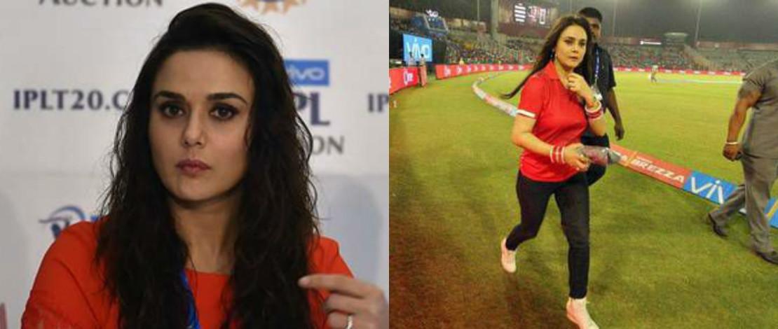 Maki Jurulatih Pasukan Kriket Miliknya, Preity Zinta Dikecam