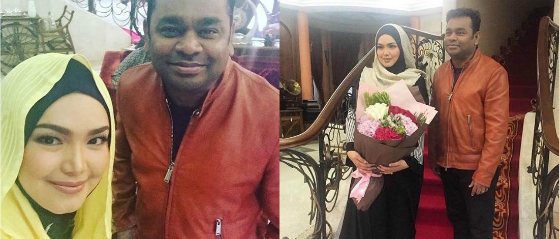 Datuk Siti Nurhaliza Tak Sangka A.R Rahman Sudi Ke Rumahnya
