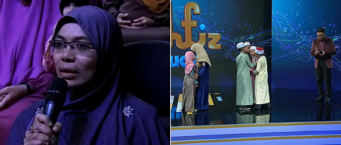 #TahfizMuda: Doa Ibu Bapa Iringi Enam Peserta Ke Final