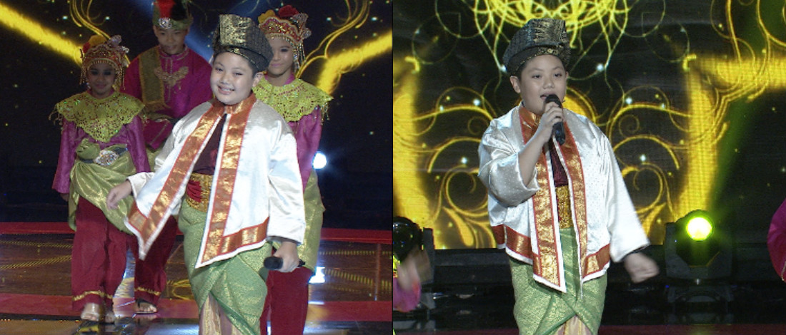 Nyanyi Lagu Datuk Siti Nurhaliza, Hazmil Ceria Popstar Menangis