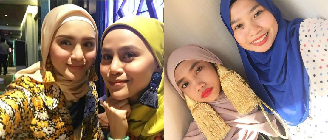 Subang Hanez Suraya Jadi Troll, Dilabel Tali Pengikat Langsir