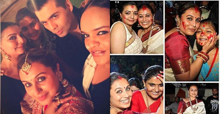 Rani Mukherjee Sambut Deepavali Tanpa Suami?