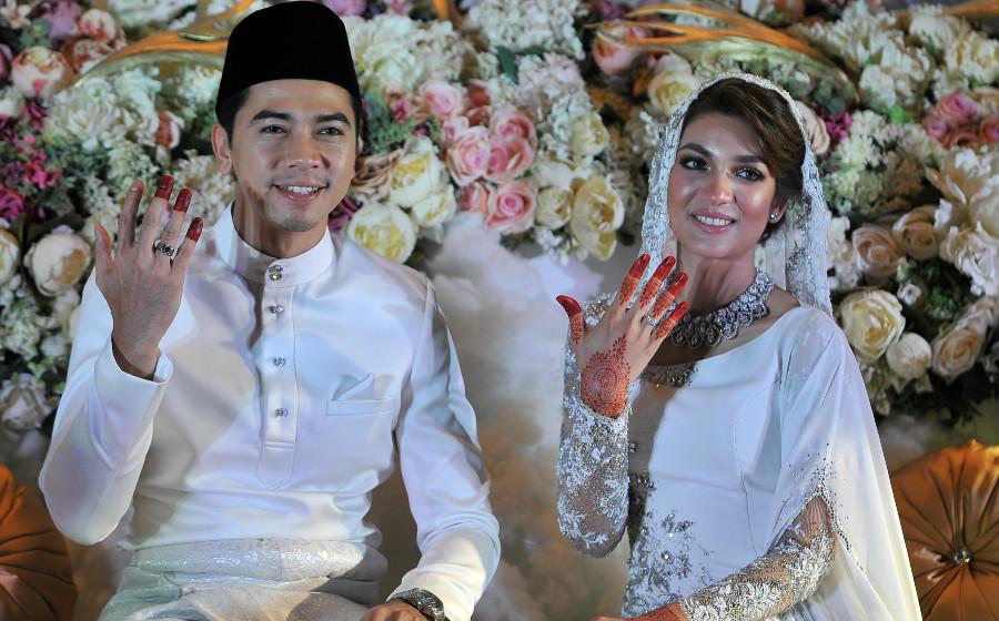 Foto-Foto Sekitar Majlis Perkahwinan Amyra Rosli & Amar Baharin