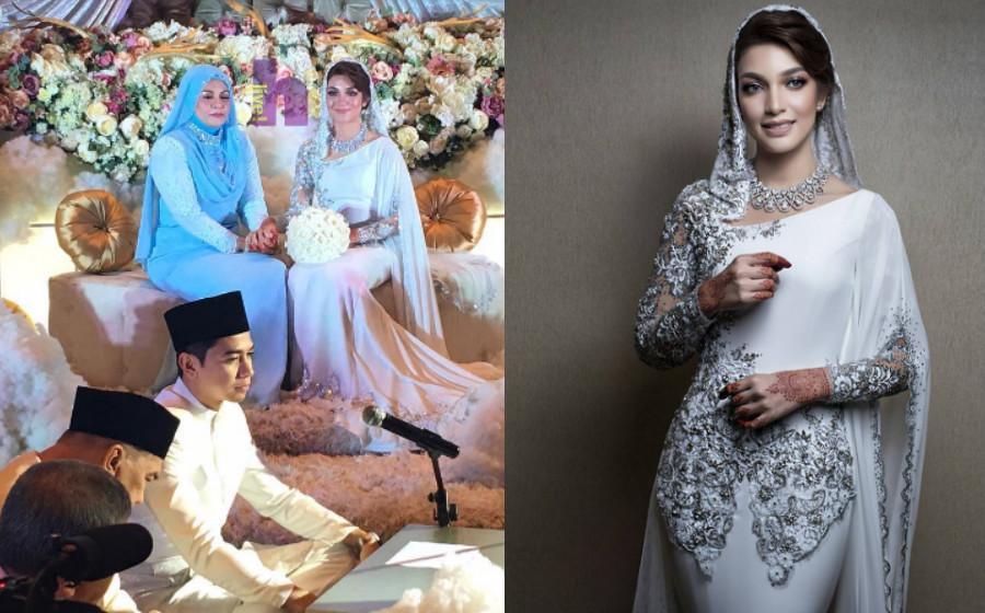 Sekali Lafaz, Amyra Rosli Sah Menjadi Isteri Amar Baharin