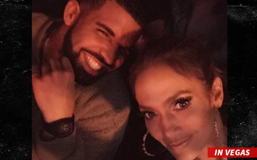 Jennifer Lopez, Drake Keluar Bersama