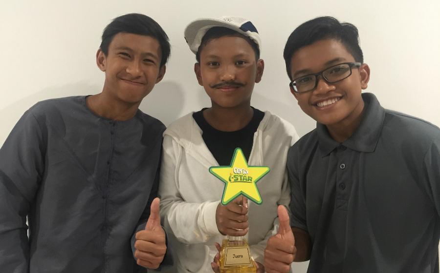 The Black Terkejut Diumum Juara Ceria I-Star