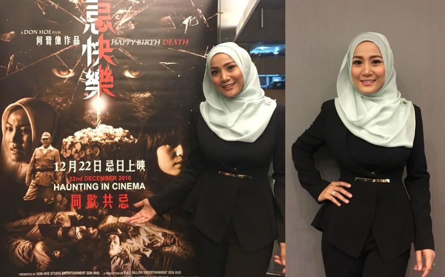 Hampir 3 Tahun Tidak Berlakon, Yana Samsudin Kembali Dalam Filem Seram Mandarin