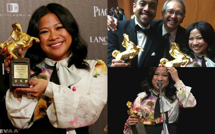 Lagu Tema Filem Ola Bola Menang Anugerah Ciptaan Lagu Terbaik Di Taiwan