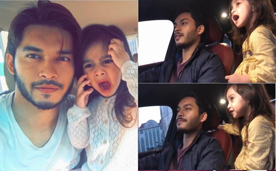 Menyanyi Lagu Hindustan, Peminat Terhibur Gelagat Comel Anak Aeril Zafrel & Wawa Zainal