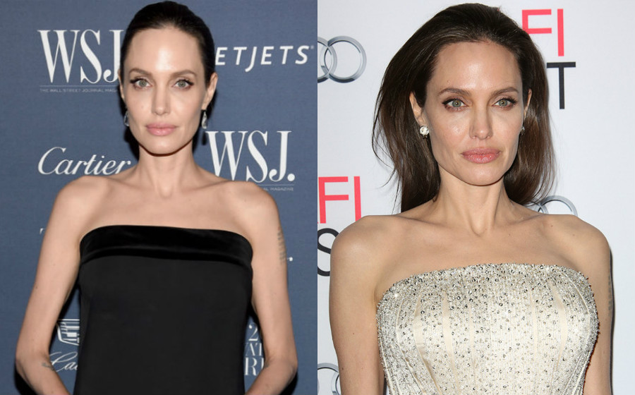 Selepas Bercerai Berat Angelina Jolie Tinggal 34 Kilogram