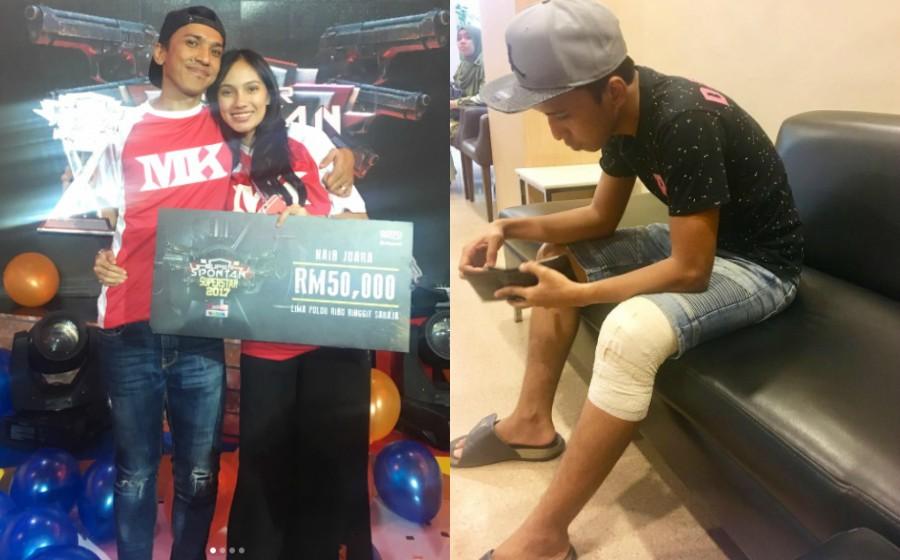Cedera Di Lutut, Fad Bocey Sembunyi Kesakitan Demi Super Spontan
