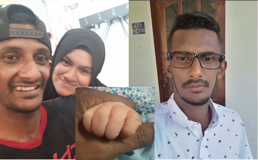 Isteri Selamat Bersalin, Mamak Puteh Timang Anak Kedua