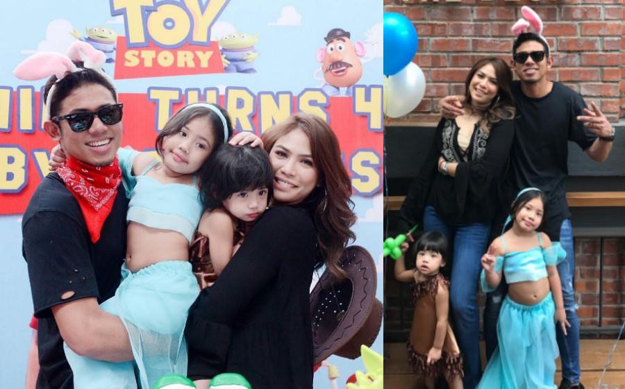Nabil Ahmad Sambut Ulang Tahun Kelahiran Anak Bertemakan Toy Story