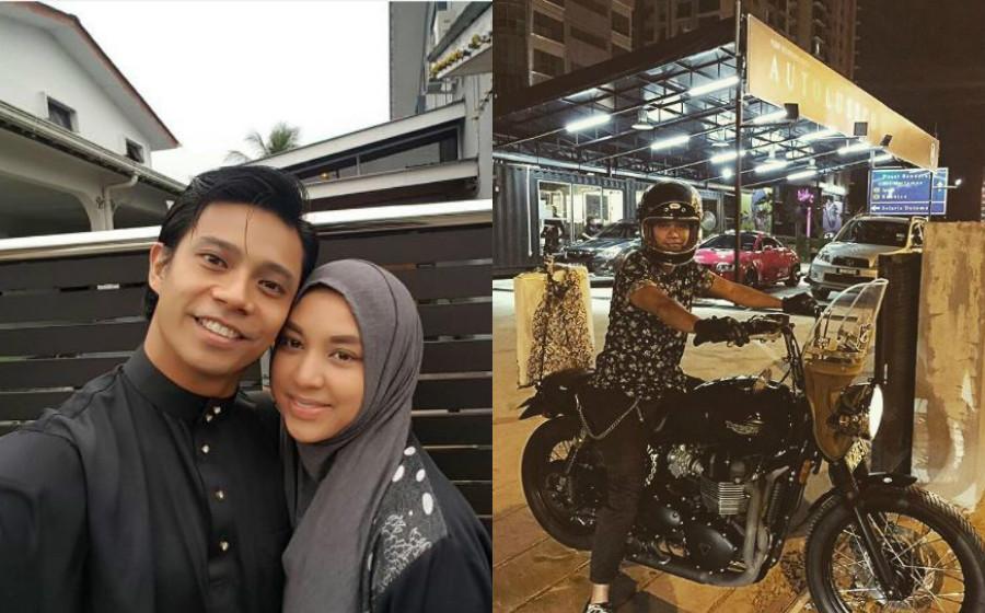Noh Salleh Suka Motorbike, Mizz Nina Tak Halang Hobi Baru Suaminya