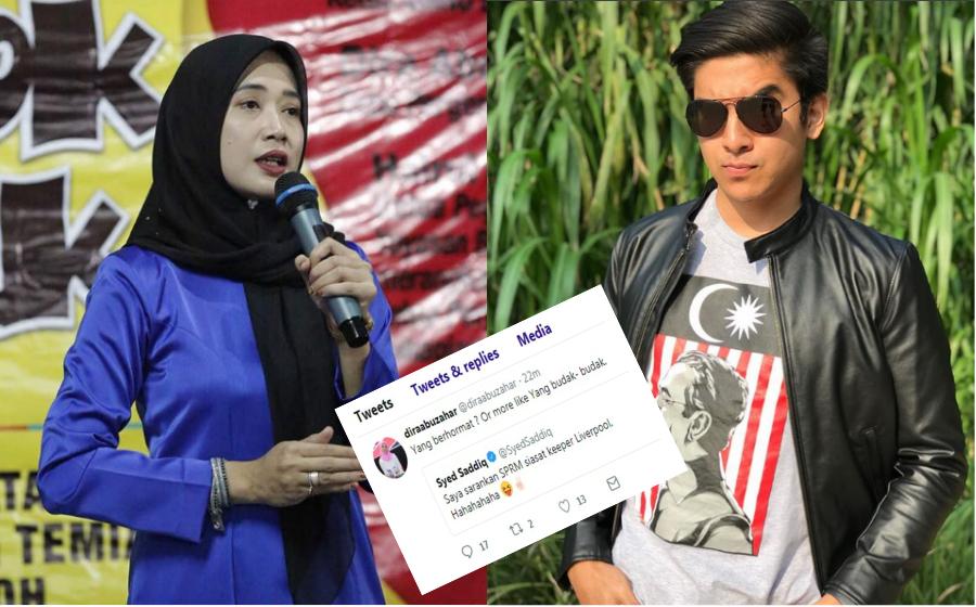 Beri Respon Terhadap Twit Syed Saddiq, Tindakan Dira Terima Kritikan Netizen