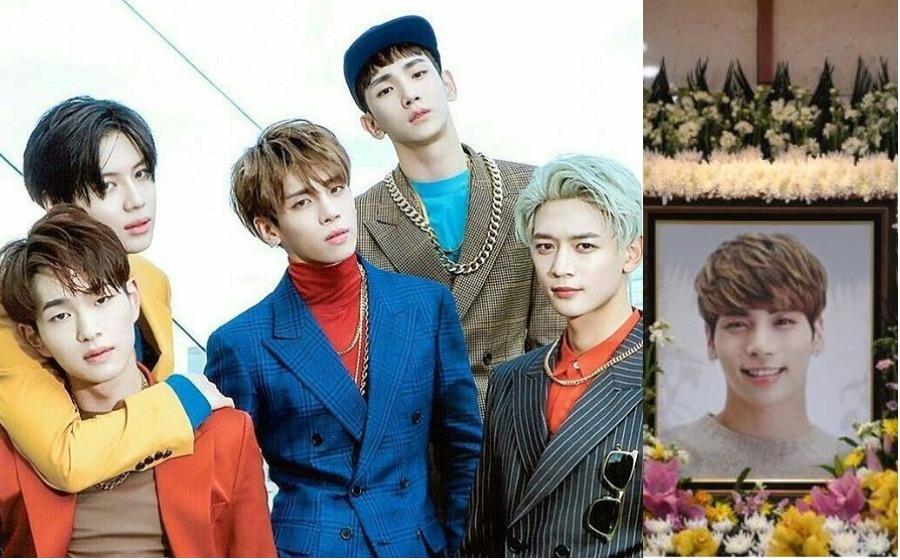 SHINee Teruskan Konsert Walaupun Tanpa Jonghyun