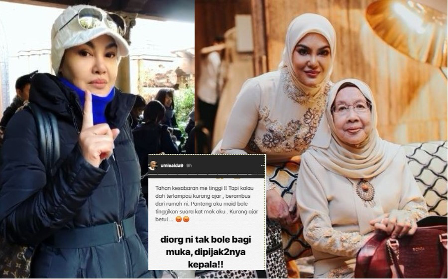 Pembantu Rumah Tinggi Suara Terhadap Ibu, Umie Aida Suruh 'Berambus'!
