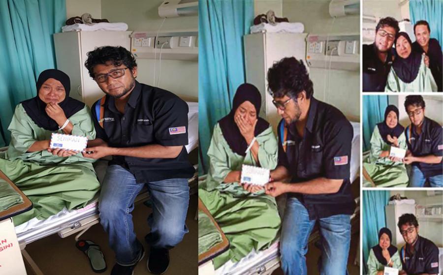 Wan Maimunah Masuk Hospital, Jangkitan Paru-Paru & Bengkak Jantung