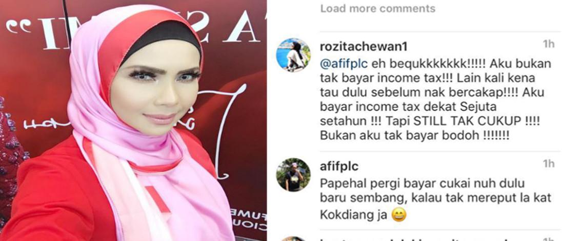 Geram Dituduh Tak Bayar Cukai, Che Ta Panggil Netizen Beruk