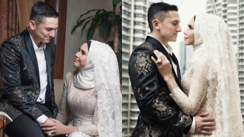 Sambut Ulang Tahun Perkahwinan, Che Ta & Zain Bergaya Seperti Pengantin