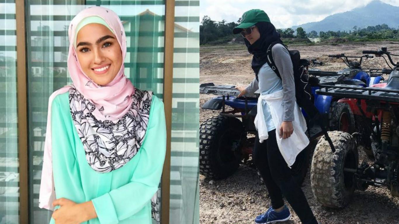 Elfira Loy Akui Sukar Lakukan Aktiviti Extreme Untuk Wanita Bertudung