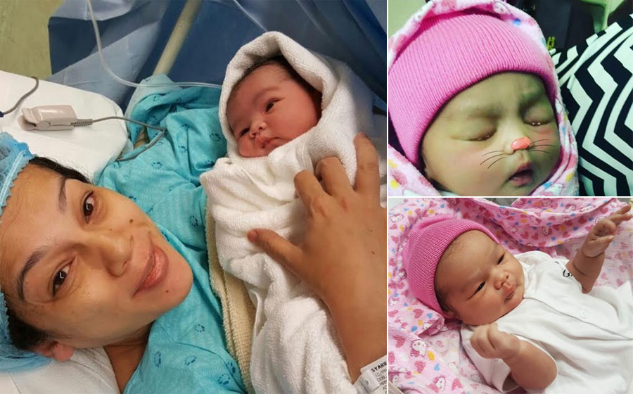 Comelnya Adeena, Anak Kelima Sharifah Shahira