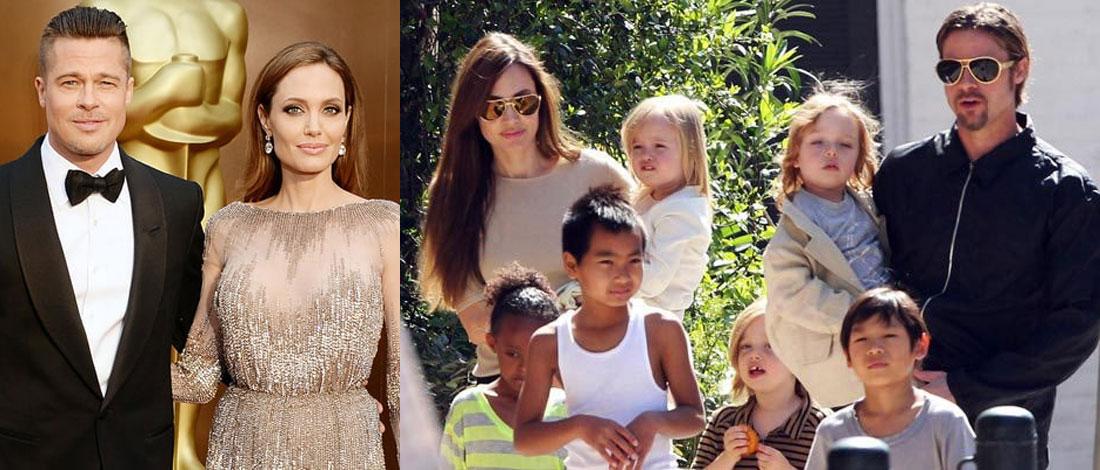 Brad Pitt Tuntut Hak Penjagaan Anak Bersama