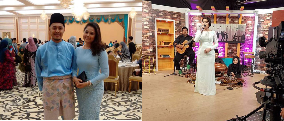 Farhan Berinteraksi Dengan Bayi Sebelum Menyanyi Di Pentas