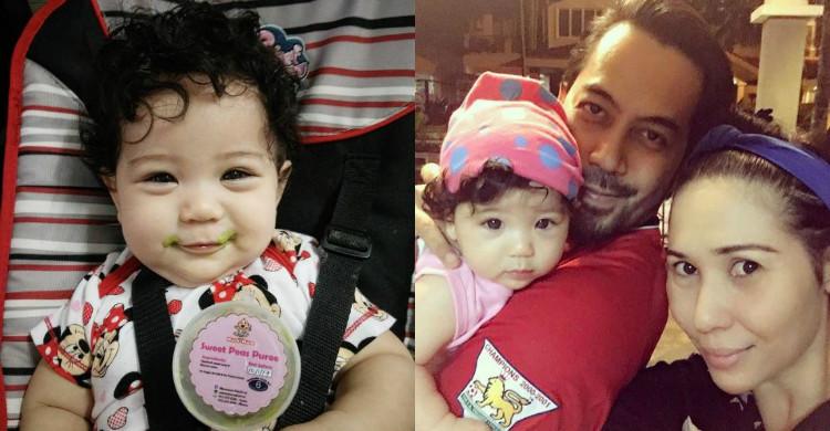 Bayi Comel Yaya Maembong & Wan Raja Kini Bergelar Pelakon