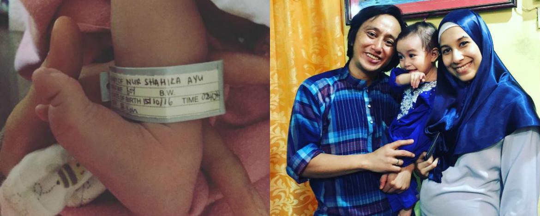 Radhi OAG Syukur, Isteri Selamat Lahir Anak Kedua