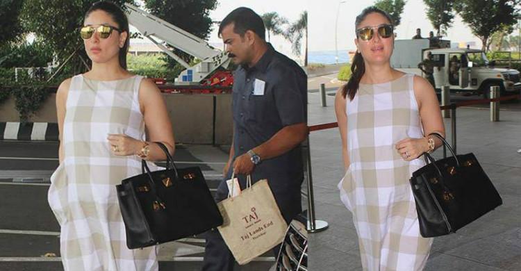 Walaupun Sarat Hamil, Kareena Kapoor Sanggup Terbang Jauh Jumpa Suami