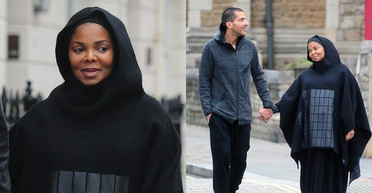 Penampilan Janet Jackson Pakai Hijab Di London Jadi Tumpuan