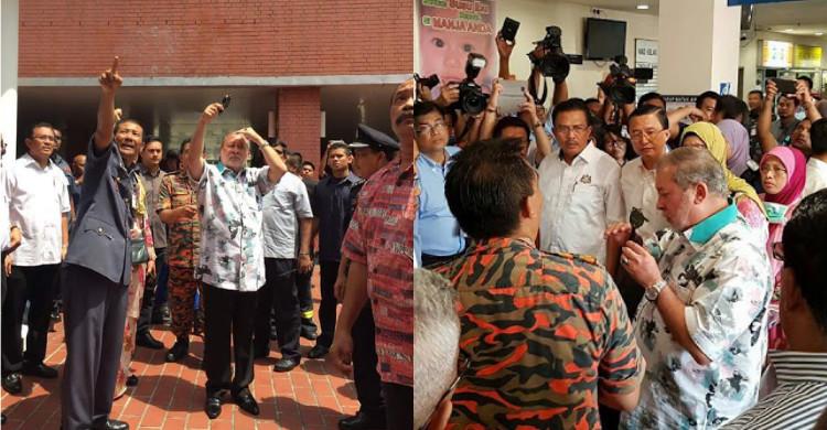 Hospital HSA Terbakar, Sultan Johor Titah Guna Wad Diraja