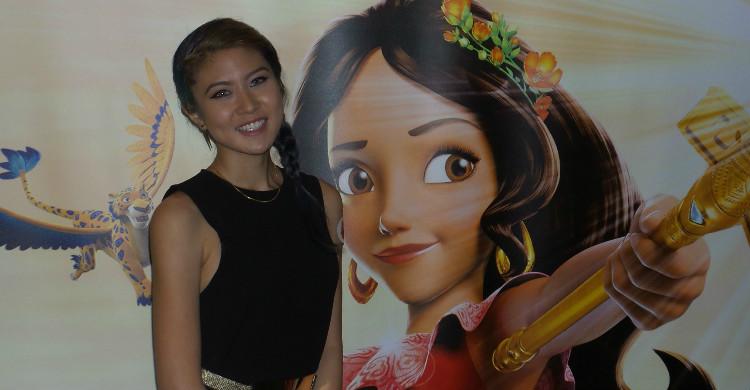 Elizabeth Tan Terharu Dipilih Sebagai Duta Elena of Avalor