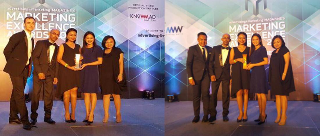 Marketing Excellence Award 2016, The House Menang Emas Kategori Pemasaran Digital Terbaik